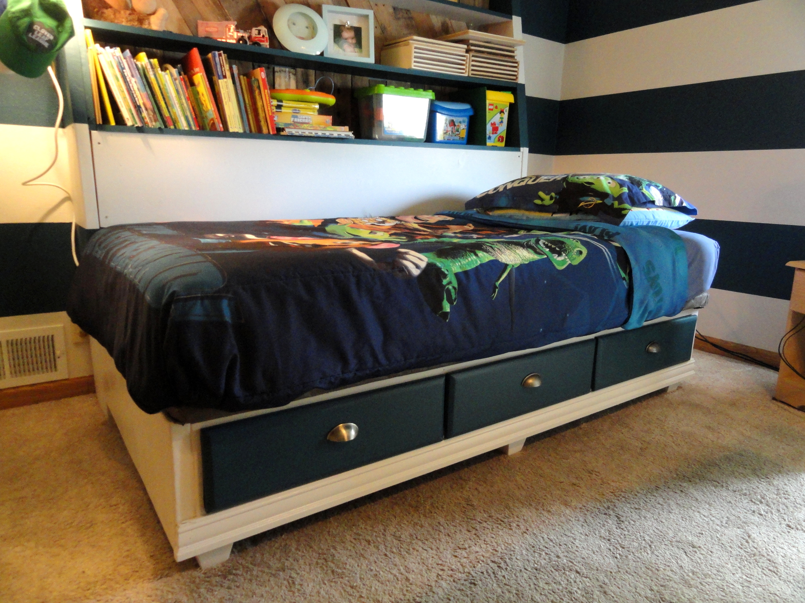 Bed Frame Ideas On Pinterest Waterbed Bed Frame And Diy Bed Frame