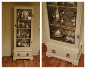 the new silver cabinet!
