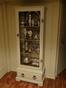 my silver cabinet!