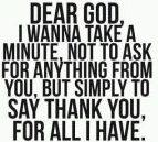 dear God--