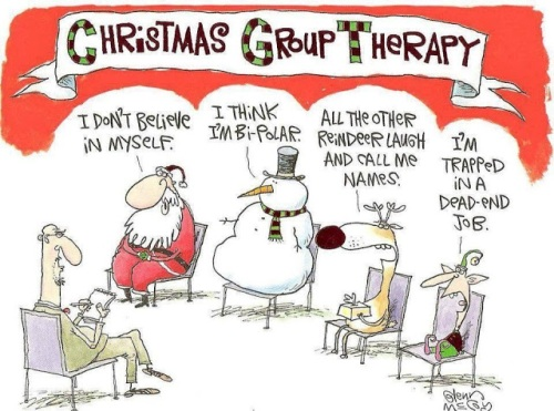 Christmas group therapy!