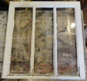 old windows bought in Louisville!