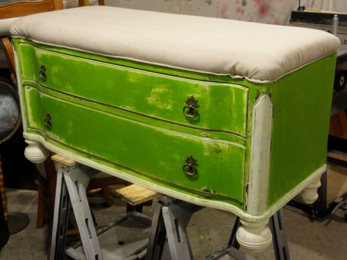 the other half of the Craig's List dresser!