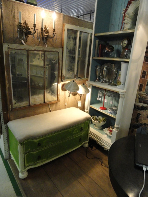 my antique mall space!