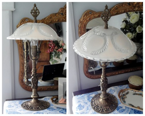 an old lamp project--