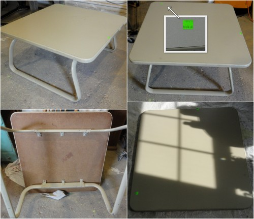 the ReStore 1/2 price sale, a waiting room coffee table!