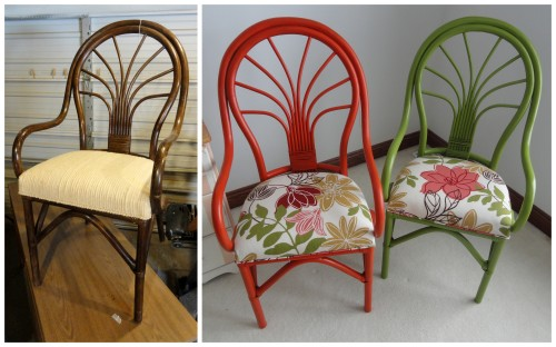 a pair of chairs for Princess Aleigha