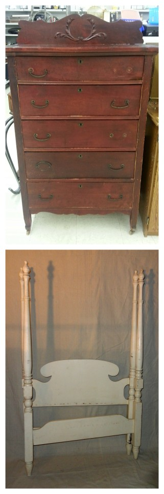 thrift store finds~new projects