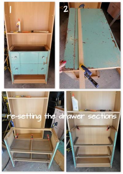 Aleigha's bookshelf-dresser