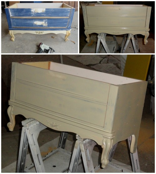 another Craig's list dresser makeover!