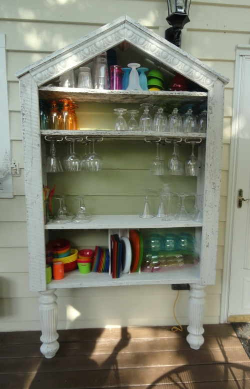 the outdoor china hutch