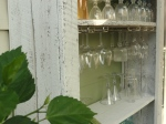 ~a view of the wine glass racks!
