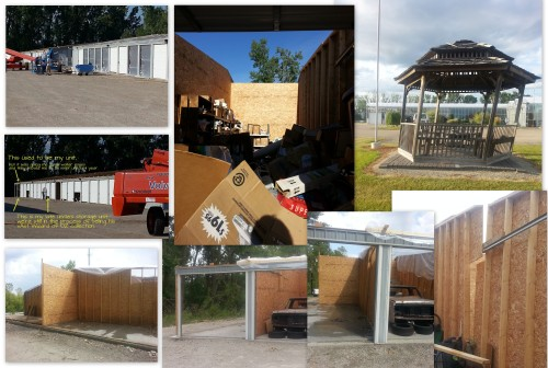 storage unit damages