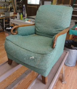 grandma's chair!