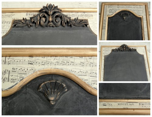 details of the chalkboards!