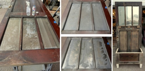 silvering the glass-