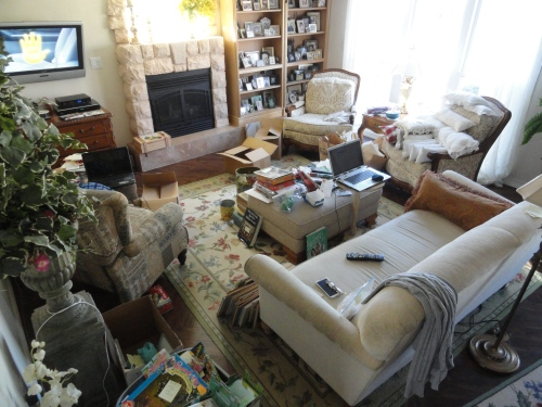 We are NOT hoarders--really!