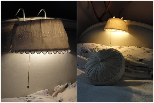the ReStore bed lamp redo!