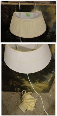 the ReStore bed lamp