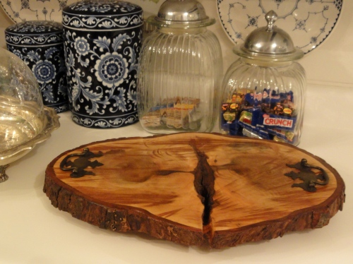 A tray from the fallen tree!