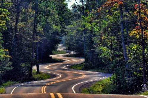 Winding-Road.  How my days have been going lately.