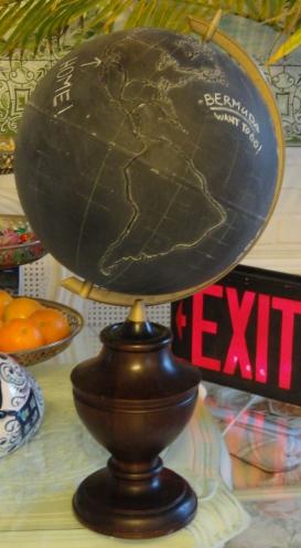 my chalkboard globe