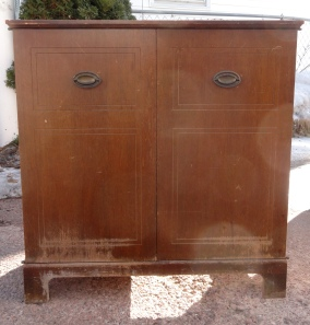 the Craig's list cabinet