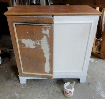 working on the CL bonus cabinet