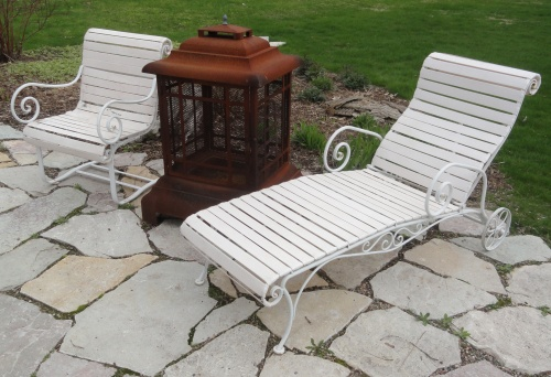 my restored '50's patio furniture