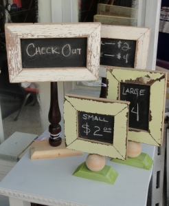 my little chalkboard signs---