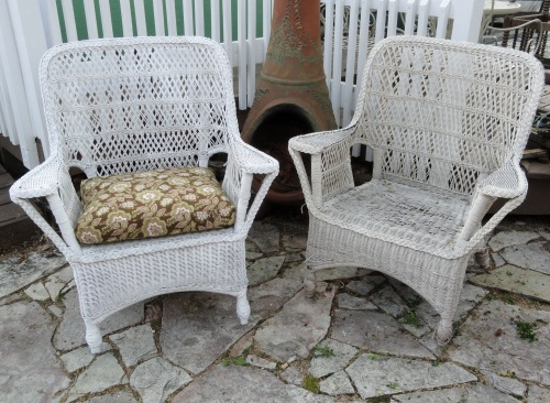 My Old Wicker Patio Chairs Freddy Amp Petunia