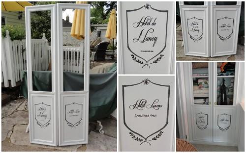 the new linen closet doors--