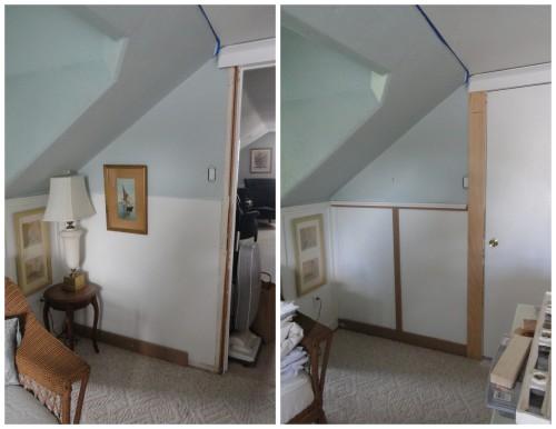 upstairs hall---