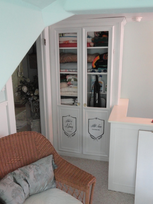The new linen closet doors!