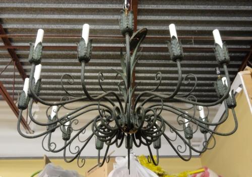 Kristen's chandelier--