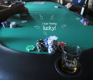 gOOd luck on Family Poker Night!