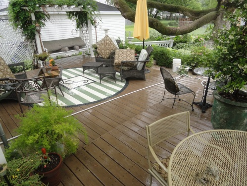 the perpetually wet deck--