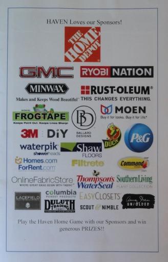 Haven sponsors 2014