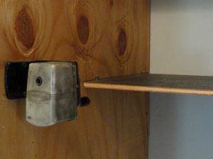 the old pencil sharpener--