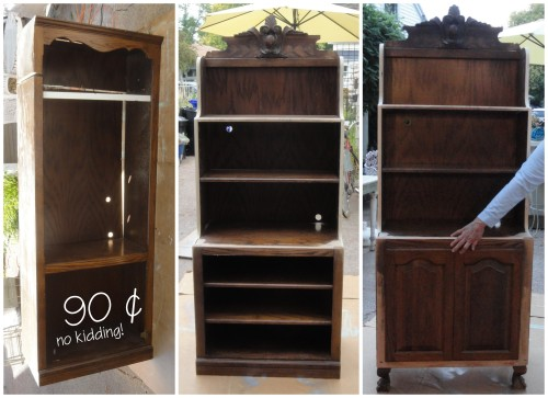 RE-inventing the 90-cent thrift store cabinet