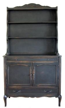a dish hutch I just found on pintrest!