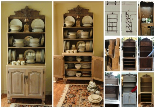 my Dish Hutch--beginning to end!