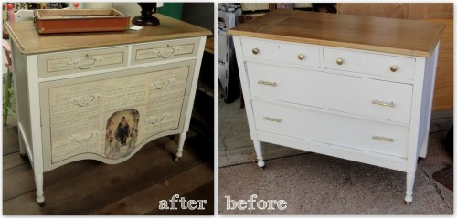 Plain Jane---before & after