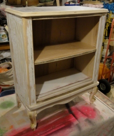my freebie French Provincial desk REinvention