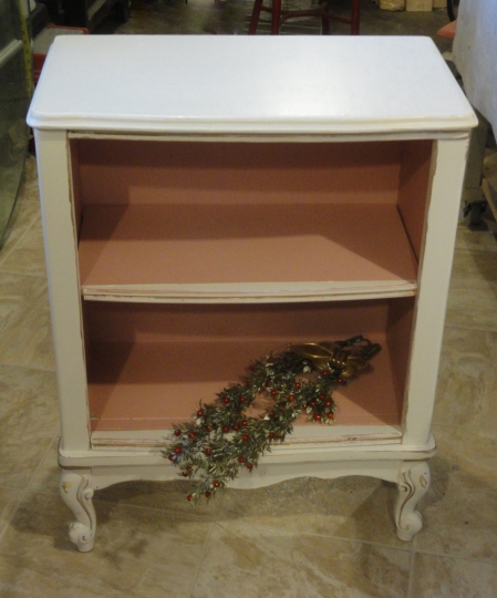 the REinvention of my freebie French Provincial desk--