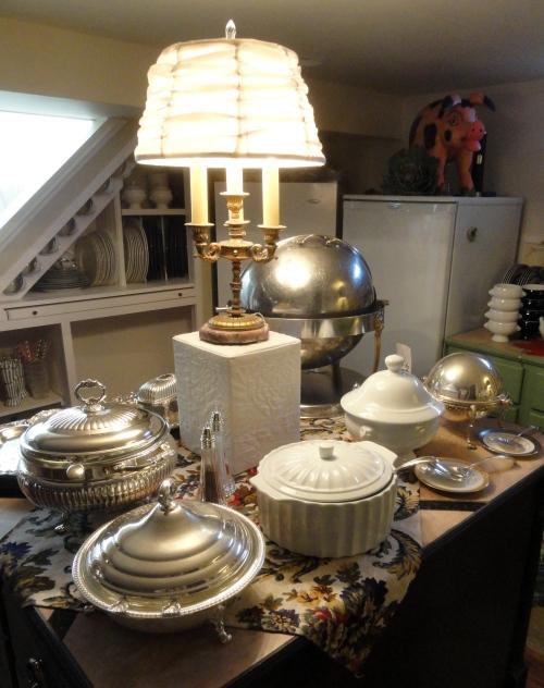 more Christmas decor--