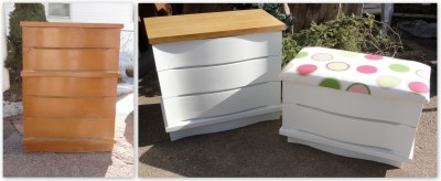 a CL dresser totally REmade