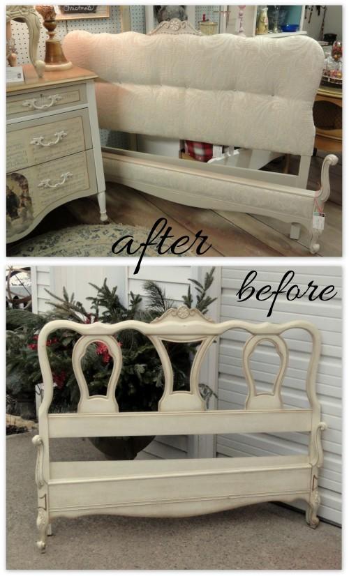 REstyling a Provençal-styled bed frame