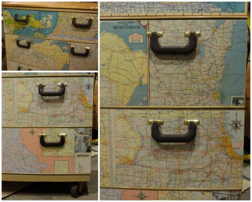 details of the RETRO dresser!