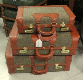 awesome vintage luggage--